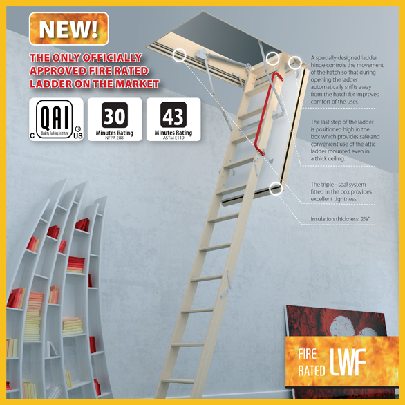 Fire Rated Attic Ladders · Fire Rated Attice Ladder