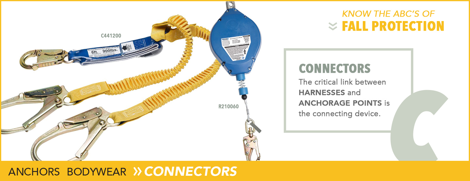 Fall Protection Connectors