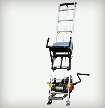 TP250 TP400 Shingle Hoist Image