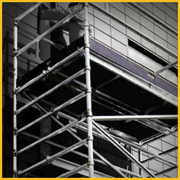 Snap On Scaffolding : Snap on walk through frame scaffolding with quot laddersales