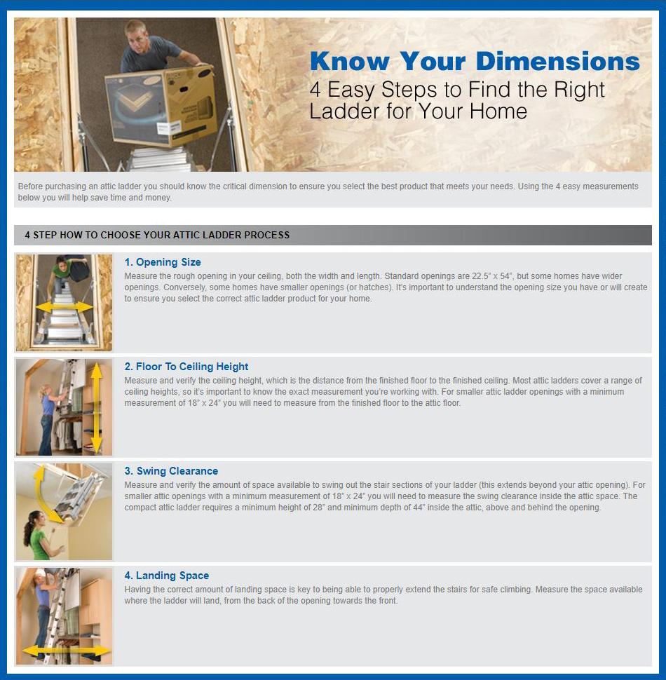 Attic Ladders Attic Ladder Product Information